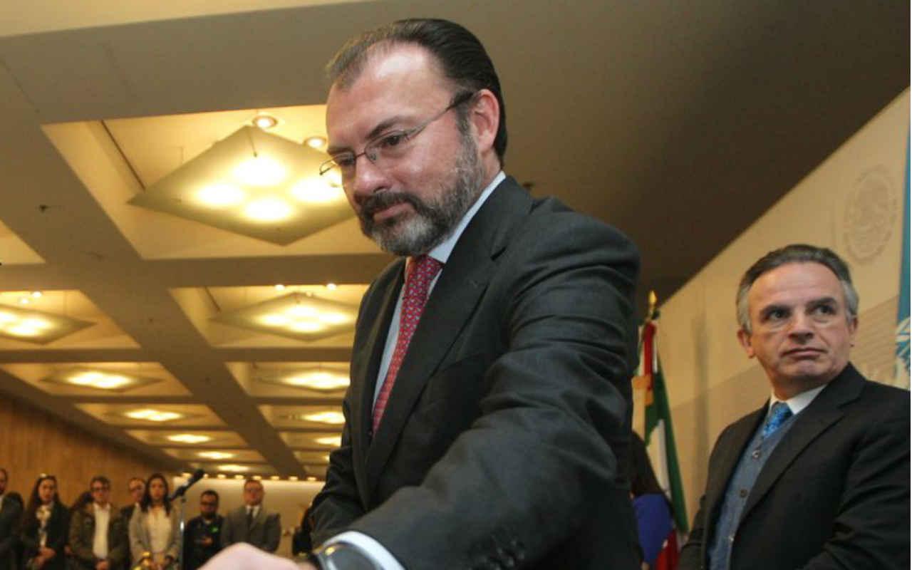 Videgaray se reunirá con Tillerson por relación México-EU
