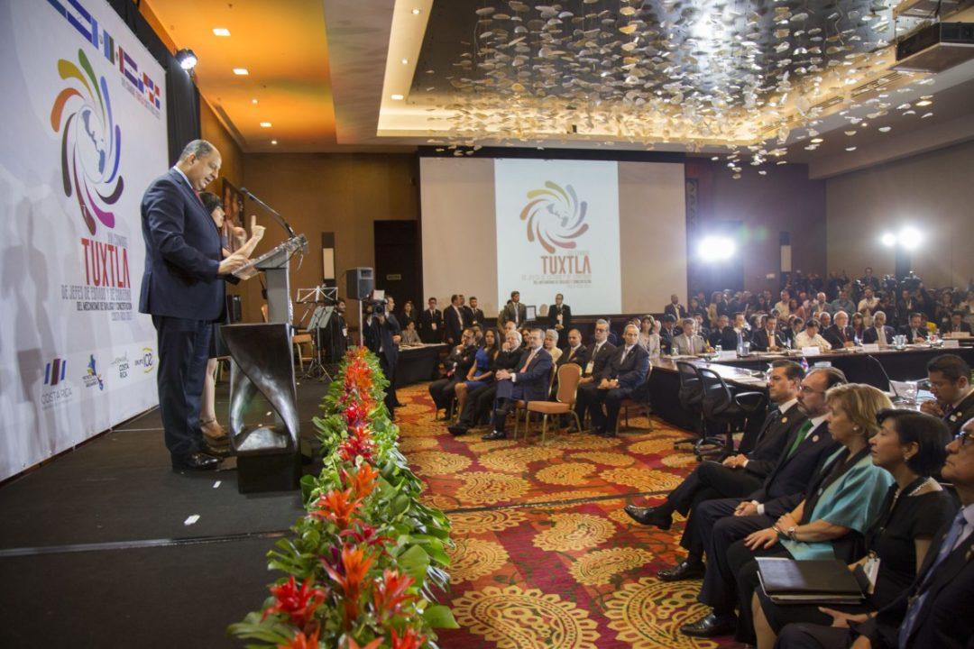 Inicia reunión entre países de Centroamérica y México en Costa Rica