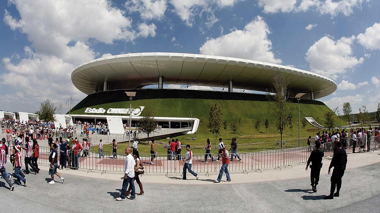 Los estadios se modernizan y ofrecen algo más que futbol