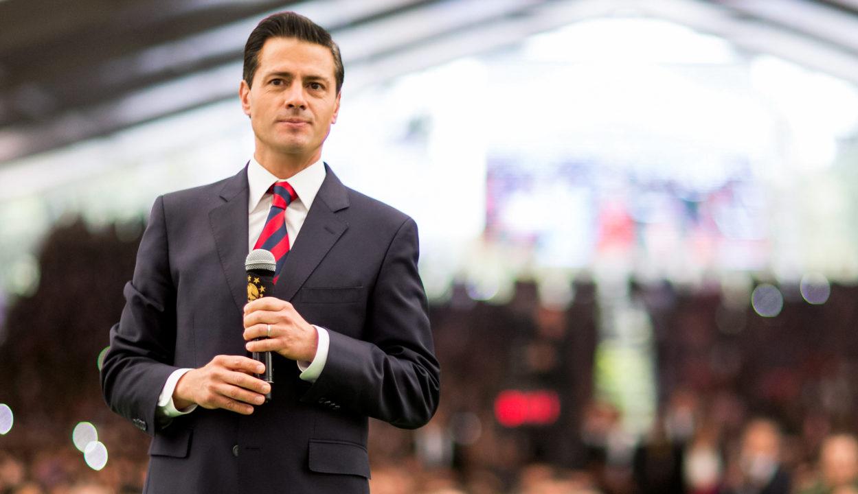 Crisis, solo en sus mentes: Peña Nieto