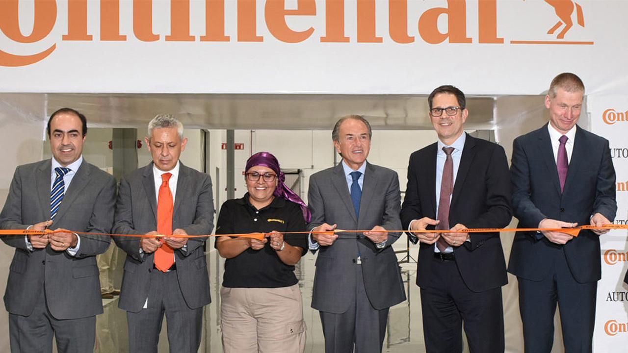 Después de un año y 167 mdd, Continental inaugura planta en SLP