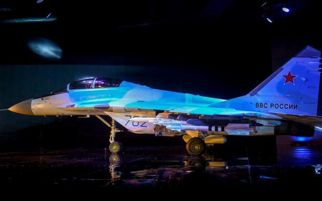 Rusia quiere que la Fuerza Aérea Mexicana vuele su caza de última generación Mig_35-640x400