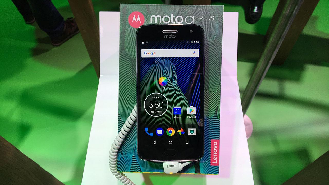 Los nuevos Moto G5 de Motorola llegan hoy a México